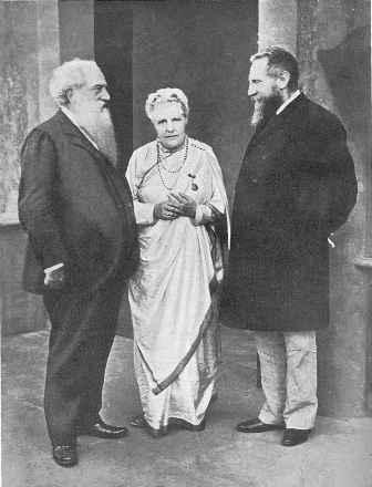 Henry Steel Olcott, Annie Besant, and Charles W Leadbeater